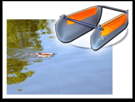 санки рыболовные для течения